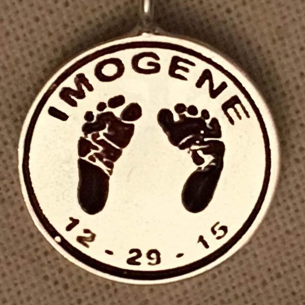 baby foot charm