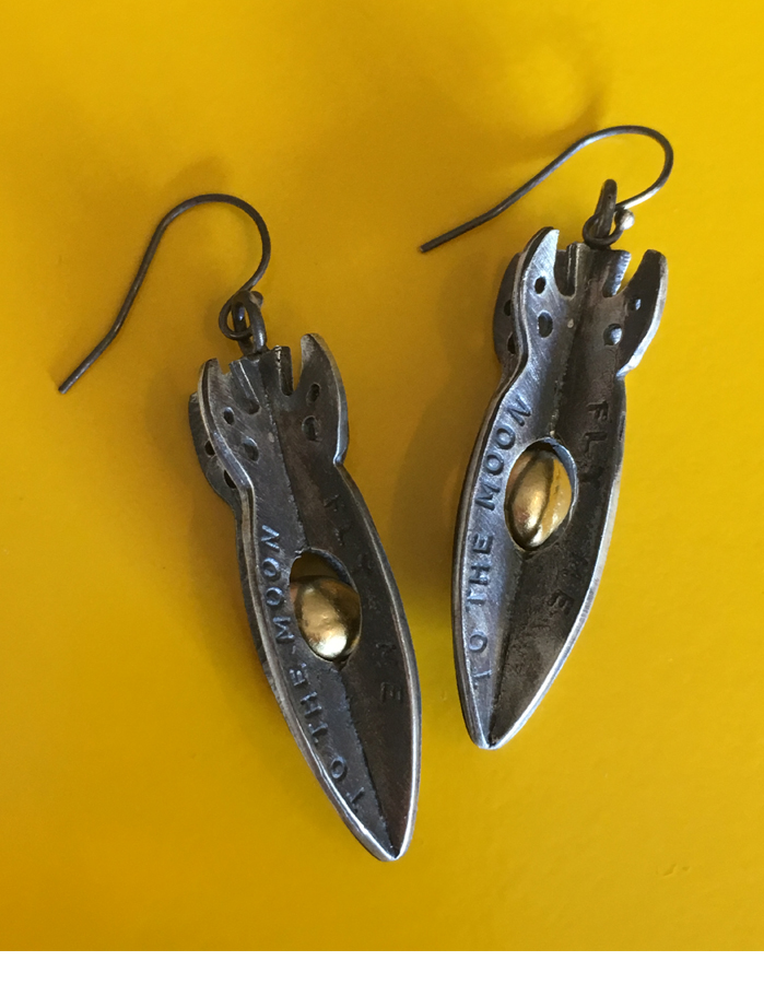 new rocket earrings
